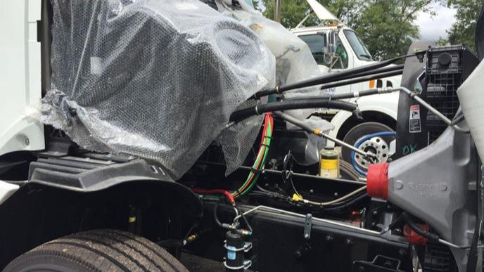 UTA- Report Clears EPA - image of a truck crash